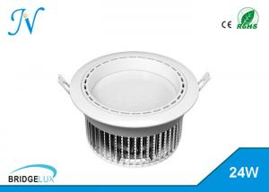 China Energy Efficient Adjustable Recessed Led Downlight , 24w Led Wall Washer Downlight on sale
