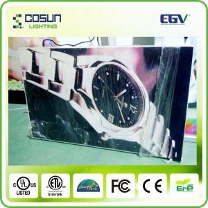 China PMMA Wall Mount LED Textile Light Box / 24 Volt Customized SMD3528 LED on sale