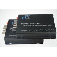 Multifunctional 4 Channel Video To Fiber Converter 110bps-115.200Kbps