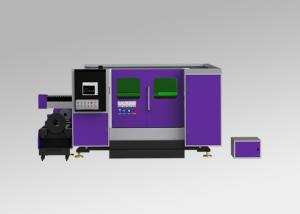China 2KW Cnc Fiber Laser Cutter , Laser Cutting And Engraving Machine With Exchange Table on sale