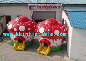 China High Quality Mushroom Inflatable Air Bouncer / Jumping Castle Blower on sale