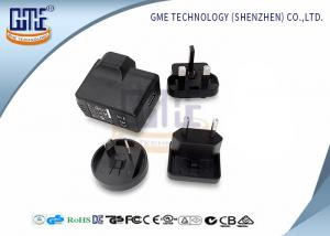 China Interchangeable Plug Power Adapter Universal Travel Adaptor With USB on sale