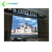 HD P4 P5 Indoor LED Video Curtain Rental High Refresh Rate Super Thin SGS