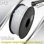 1.75 / 3.0 mm  PC Filament  White for RepRap , Cubify 3D Printer Filament