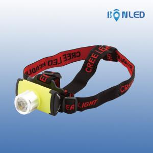 China Brighter New Style Cree XPE Lithium Battery Powered Led Headlight on sale