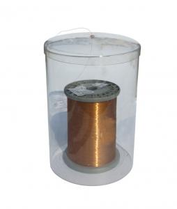 China Coil Tray Copper Wire Cover Wire Protect Coiler Barrel Coiler (transparent coiler) on sale