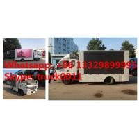 FOTON AUMARK 4*2 LHD/RHD mobile digital billboard LED advertising vehicle for sale,HOT SALE! P6/P8 mobile LED truck