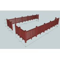 China Environmental WPC Construction Railing For Sunshade & Decoration on sale