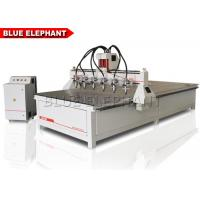 1836 multi - heads cnc router, wooden door design cnc router machine with best price