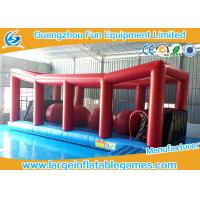 Extreme Big Baller Inflatable Obstacle Course Blow Up Big Ball Run 10*4m