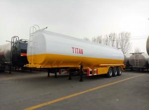 China 45000 liters oil tanker semi trailer  | Titan Vehicle on sale
