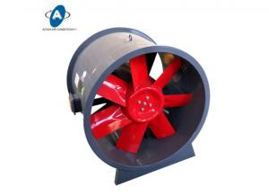 China Turbo Moveable Tube Axial Flow Fan Portable Ventilator Industrial Exhaust Axial Fan on sale