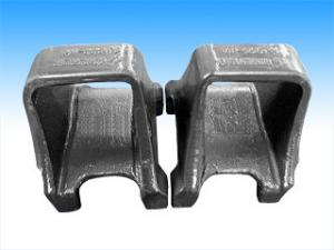 China Quenching framework ductile custom iron casting parts shell mold pouring on sale