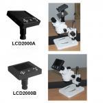China LCD2000 LCD screen usb digital microscope camera electronic eyepiece wholesale