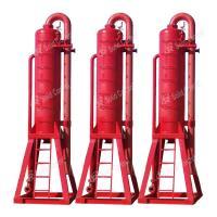 Skid Mounted Mud Gas Separator Horizontal Directional Drilling Use