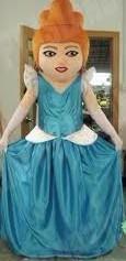 Quality costumes costumés adultes faits sur commande de caractère de Cendrillon Disney for sale