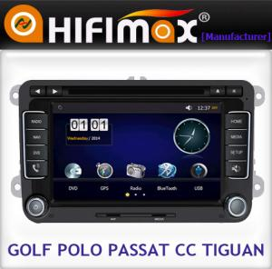 China Hifimax car dvd player For VW head unit car gps navigation CE Certification supplier