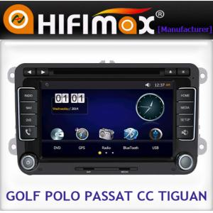China 2 din 7 inch car dvd with GPS,BT,IPOD,RDS (TMC+DVB-T Built-in),GPS dual zone for VW on sale