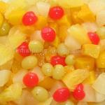 ensaladas de fruta conservado