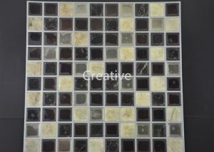China Customized Decorative Self Adhesive Gel Wall Tiles For Bathroom on sale