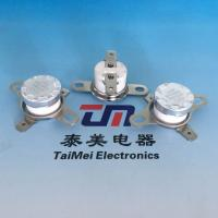 China Manually Reset Bimetal Thermostat Temperature Controlled Switch on sale