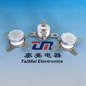 China 12 Years Experience Manufacturers Bimetallic Thermostat Switch, Adjustable Bimetallic Thermostat on sale