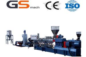China 200 - 355 kg/h Filler Masterbatch Plastic Extruder Machine Double Screw on sale