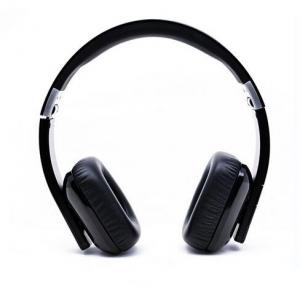 China Fasion Foldable Wireless Hi-fi NFC stereo bluetooth headphone TTS Dual Language on sale