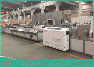 China CE / SGS Approved WPC Profile Extrusion Line With SIEMENS Motor Brand on sale