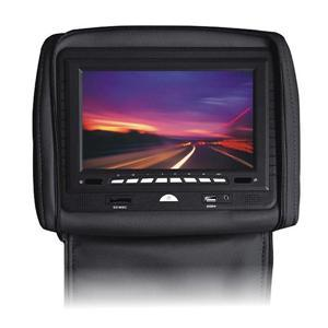 China 8 inch hd digital screen car headrest monitor built in GPS and TV tuner on sale