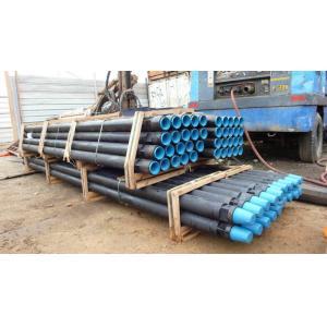 China API Standard Well Drilling Pipe, Custom Diameter Rock Drill Accessories on sale