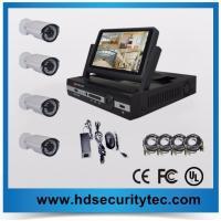 China 7inch LCD 720P 4ch AHD dvr kit Analog HD camera system on sale