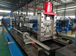 China High Speed Omega Solar Roll Forming Machine Drive by Chain 40-50m/min on sale