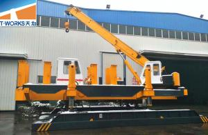 China High Precision Hydraulic Piling Machine , Bored Pile Drilling Rig OEM Service on sale