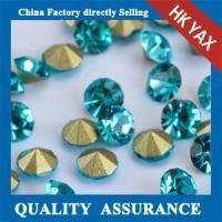China Sapphire SS6 bulk rhinestones wholesale,wholesale bulk rhinestones,cheap bulk rhinestones wholesale on sale