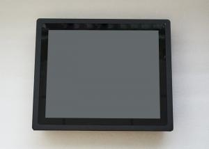 China 17 Inch 3MM Front Bezel High Brightness Monitor Industrial Touch Screen Monitor With Fan on sale