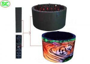 China Soft Full Color RGB Stage LED Screens , Rolling flexible led screen panel 3G WIFI Control on sale
