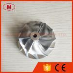 GT15-25 50.20/65.00m m 6+6 billete de las cuchillas 702549-0008HF V1 turbo/rueda del compresor que muele