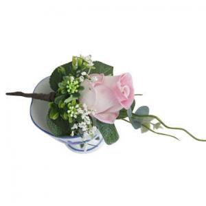 China Artificial Decoration Flower Brooch, Rose on sale
