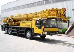 China High Performance Hydraulic Truck Crane , 20 Ton Lifting Telescopic Boom Crane on sale