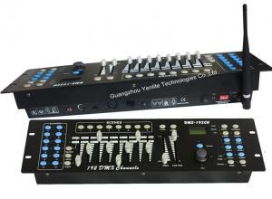 China 192CH 400M 9V Wireless DMX Lighting Controller , 2.4G ISM on sale
