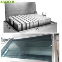 China Commercial Stainless Steel Soak Tank For Pizza Pan And Oven Pan Degreasing on sale