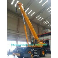 Boom Truck Crane 50 Ton XCMG RT50 Mobile rough terrain crane telescopic with CE Certificate
