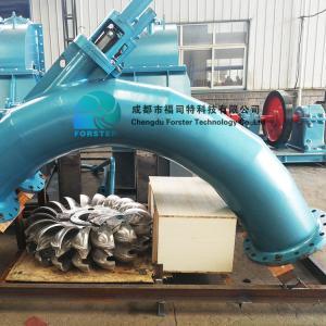 China High Head Double / Multi Nozzle Pelton Turbine Generator 500-1000rpm/ Min Speed on sale