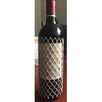 China Strong Wine Bottle Protective Netting Sleeve ,  White PE Bottle Netting Sleeves on sale
