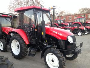 China 39.7kw PTO Power 60hp Four Wheel Drive Garden Tractors on sale