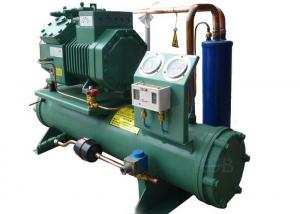 China Commercial 6FE-44Y Water Cooled Condensing Unit Refrigeration Electronic Compressor Protection on sale