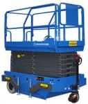 6m Height Mobile Scissor Lift with Motorized Device of Loading Capacity 300kg