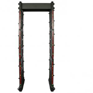 China M- Scope Portable Fold Walk Through Metal Detector Door Frame , Security Detection door on sale