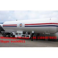 China Professional Chengli 3 axle 50cbm lpg tanker trailers for sale,Factory sale best price CLW lpg gas tank semitrailer on sale